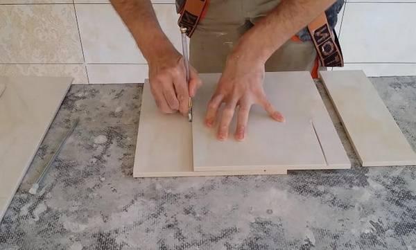 Как резать керамическую плитку в домашних условиях