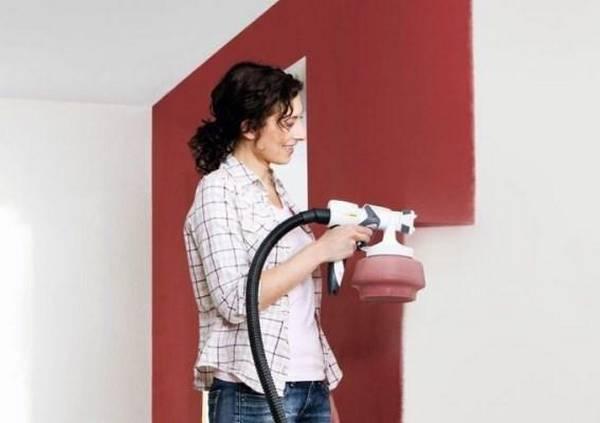 Какой краскопульт лучше использовать для покраски стен и потолков мастика для пола тэкс