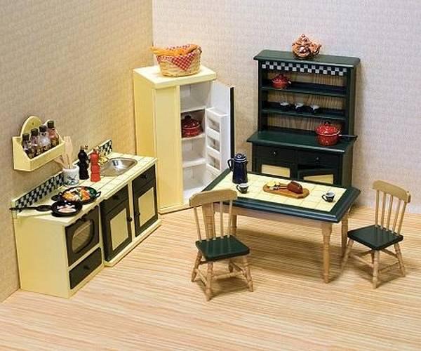 Мебель для кукольного домика своими руками 970
