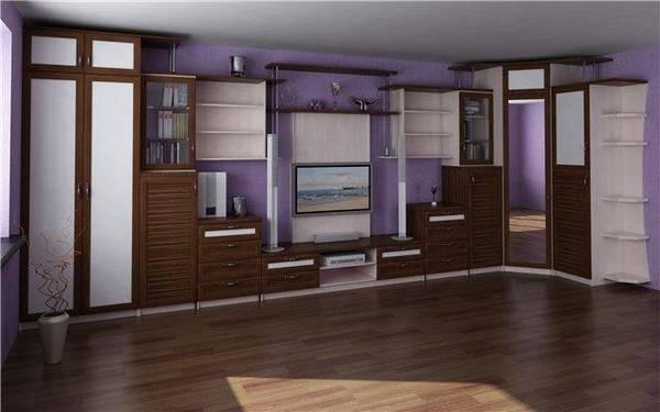 Мини-горка для гостиной: фото угловой в зале, маленькая стенка мини, небольшой для посуды шкаф, квартира