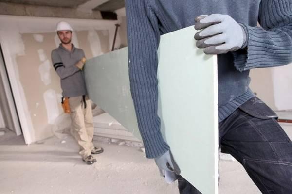 Каковы размеры стенового гипсокартона: 3 типа плит с фото