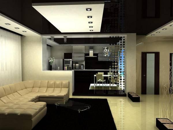 Ремонт кухни и зала: совмещение с гостиной, фото и проект, как сделать красиво, объединённый дизайн и идеи