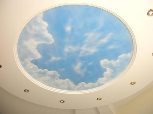Облака под потолком своими руками 90