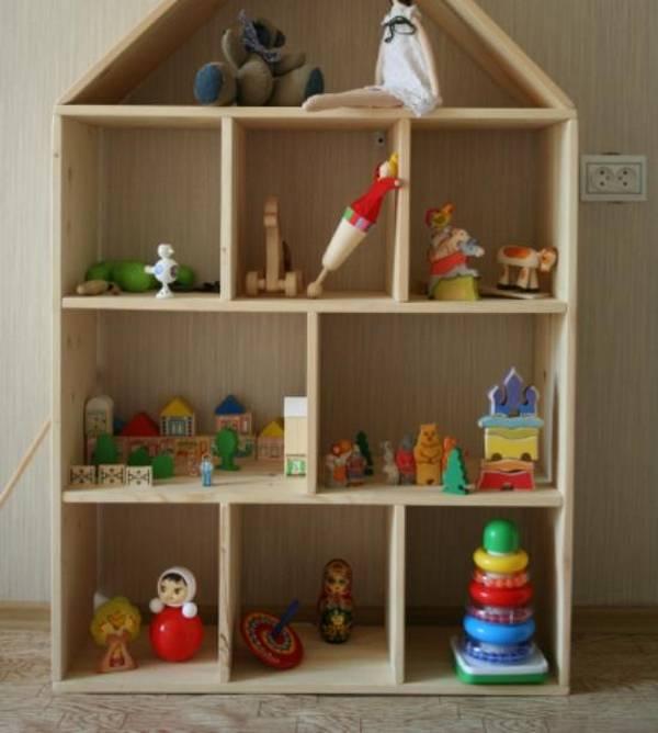 Мебель для игрушек своими руками
