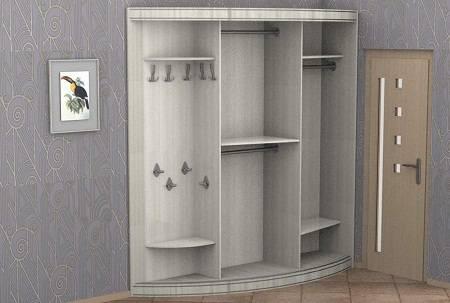 современные шкафы купе фото внутри