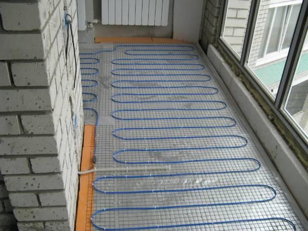 Теплый пол на балконе: на лоджии как сделать ламинат, электрический лучше, своими руками инфракрасный