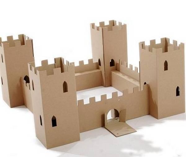 Бумажный замок своими руками шаблон | sqezo.